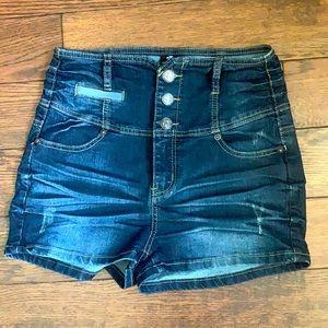 High waist LA Culture Jean Shorts